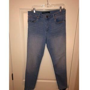 Nordstrom light blue skinny jeans!